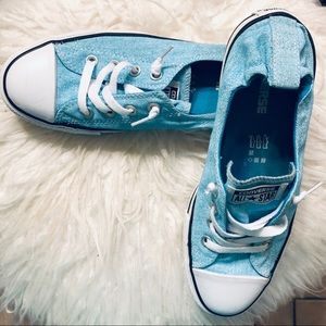 Converse Shoreline Light Aqua Sneakers Size 9